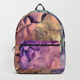 Soft Multi Color Hydrangea Backpack