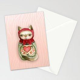 Catreshka - Cat Russian Doll Stationery Cards