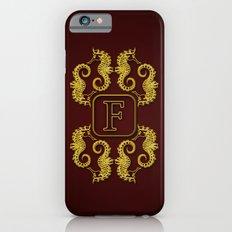 Monogram F Seahorse Slim Case iPhone 6s