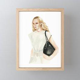 Salvatore Ferragamo SS21 RTW Framed Mini Art Print