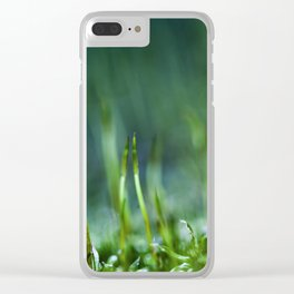 tiny world Clear iPhone Case