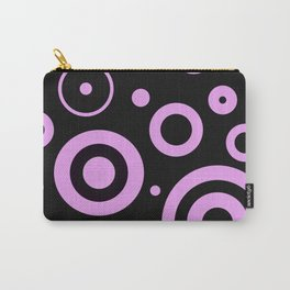 Modern abstract circles Carry-All Pouch