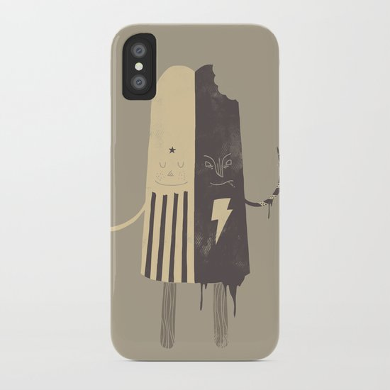 Non-Identical Twins iPhone Case