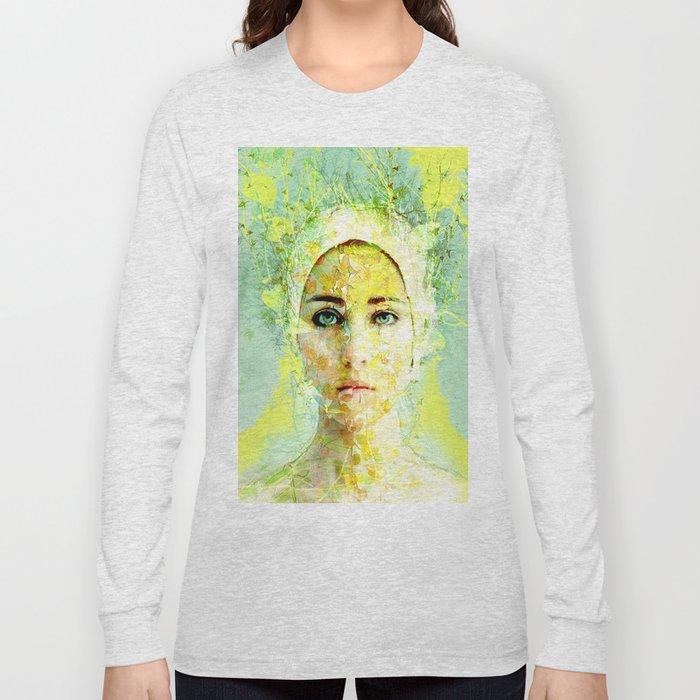 floral woman Long Sleeve T-shirt