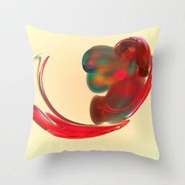 the red   (A7 B0131) Throw Pillow