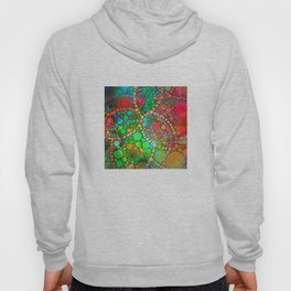 Colorful Bubble Pattern Abstract Hoody