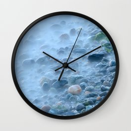 Ocean Stones Wall Clock