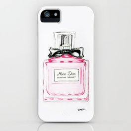 Blooming Bouquete Parfume iPhone Case
