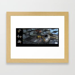 Through The Scoop (featuring the RI Dynamic) Framed Art Print