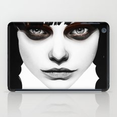 Wakeful Warrior - In Red iPad Case