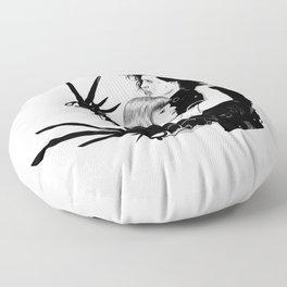 Edward Scissorhands Floor Pillow