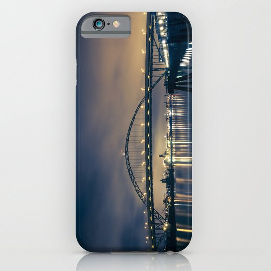 Fremont Bridge at Night iPhone & iPod Case