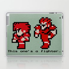 This One's A Fighter Laptop & iPad Skin