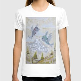 heavenly hummingbirds T-shirt