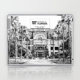 Ben Hill Griffin Stadium (North Facade) Laptop & iPad Skin
