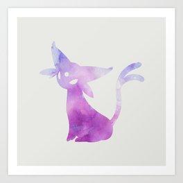 Espeon Art Print