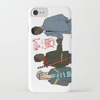 pacific rim iPhone & iPod Cases featuring Attack the Pacific Rim by Yakotako