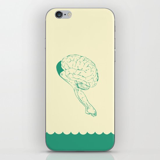 Think or Swim iPhone & iPod Skin