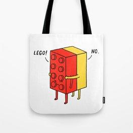 I'll Never Le Go Tote Bag