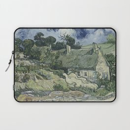 Thatched Cottages at Cordeville Laptop Sleeve