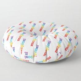 Rainbow magical Floor Pillow