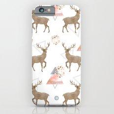 PATTERN DEER WOOD Slim Case iPhone 6s