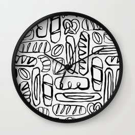 Carb Loading Wall Clock