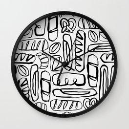 Carb Loading Wall Clock