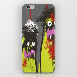 Zombie attack! iPhone Skin