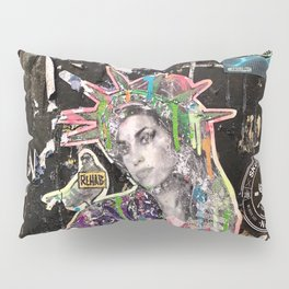 Rehab Amy Graffiti in New York City Pillow Sham
