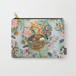 Floral and Lobster Carry-All Pouch