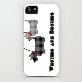 Westies are Besties iPhone Case