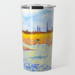 View of John Heinz Nature Reserve Pond Travel Mug