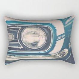 Blue Classic Camaro Rectangular Pillow