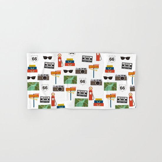 Travel Collage Hand & Bath Towel