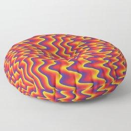 liquify illusion Floor Pillow