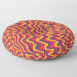 liquify illusion Floor Pillow