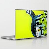 bunny Laptop & iPad Skins featuring bunny by el brujo