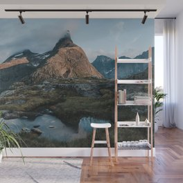 Romsdalshorn - Landscape and Nature Photography Wall Mural