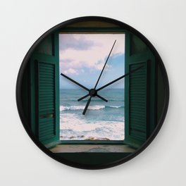 Atlantic Morning Wall Clock