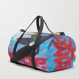 """""""With Hard Work & Persistence Dreams Becomes Reality"""" Duffle Bag"""