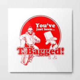 T BAG - MR. T PARODY Metal Print