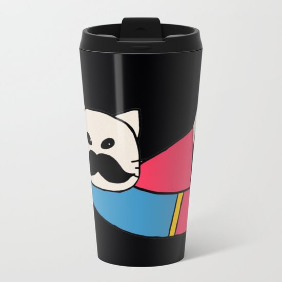 super cat-327 Metal Travel Mug
