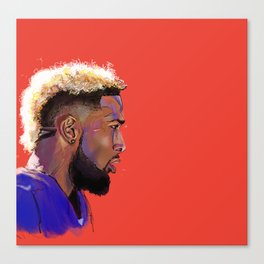 Odell Beckham Jr. Canvas Print