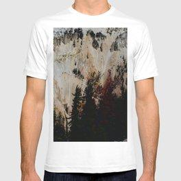 Yellowstone National Park Mountain Range T-shirt