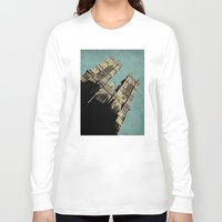 downton abbey Long Sleeve T-shirts featuring Westminster Abbey by sinonelineman
