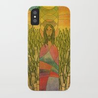 jesus iPhone & iPod Cases featuring Jesus by Eugene Frost