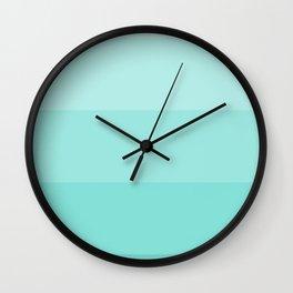 Tiffany Blue Spectrum Wall Clock