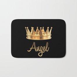 Gold Crown Angel Bath Mat