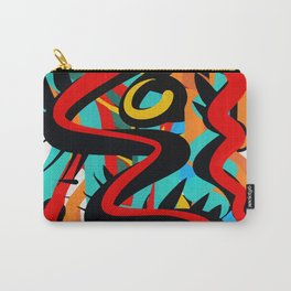 Primitive Abstract Art Street Style Carry-All Pouch